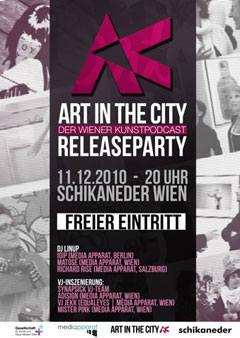 Art in the City - Releaseparty