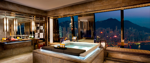 Ritz Carlton in Hongkong