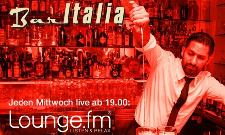 LoungeFM in der Bar Italia