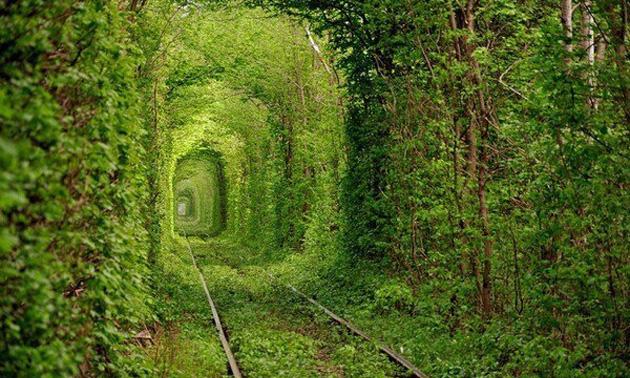 Der märchenhafte Tunnel in einem vergessenen Teil Europas