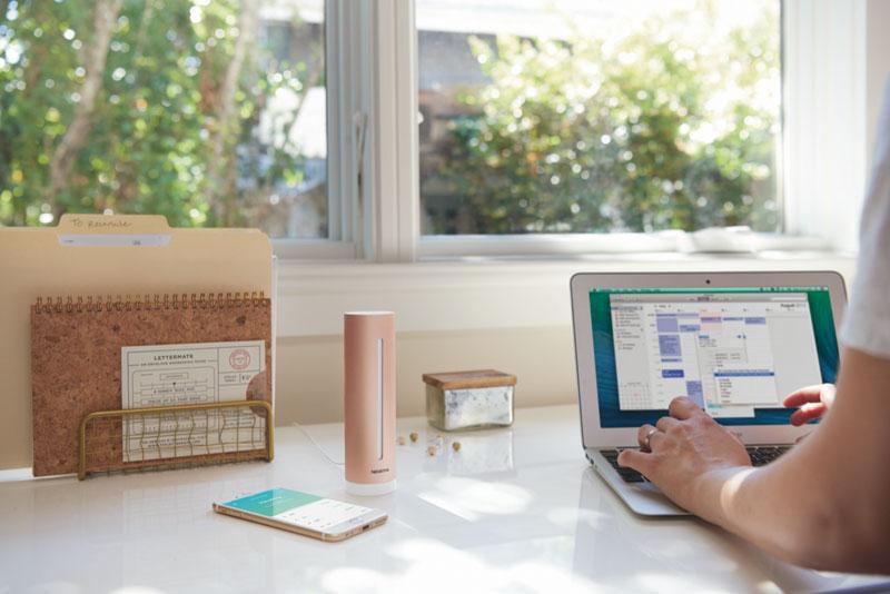 Netatmo im Home Office