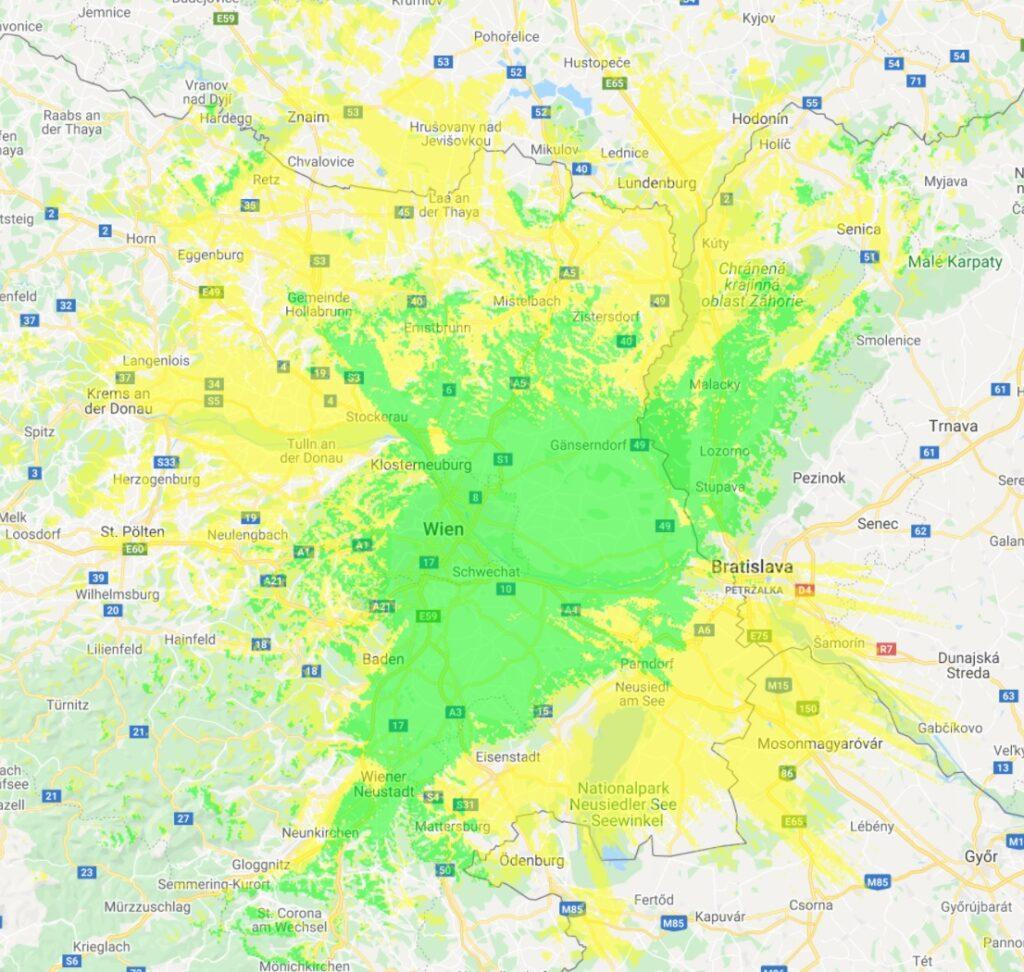 Sendebereich CityMUX Wien II